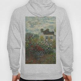 Claude Monet  A Corner of the Garden with Dahlias Hoody