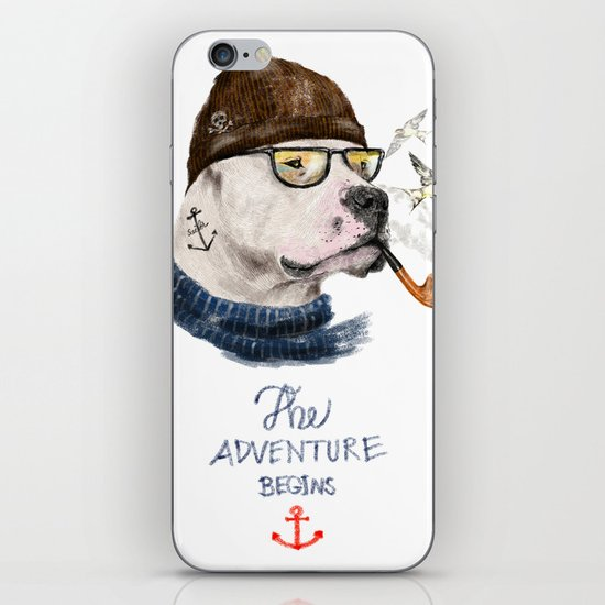 Mr.Mastiff iPhone & iPod Skin
