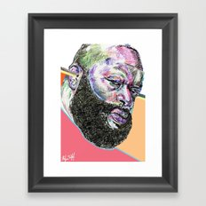 Rick Ross Framed Art Print