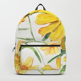Sunny Flowers Perennial Backpack