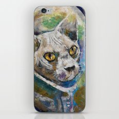 Space Cat iPhone & iPod Skin