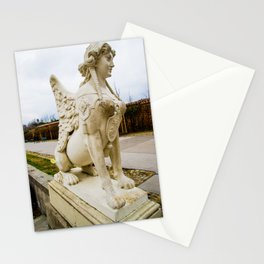 Sphinx in Austria Stationery Cards