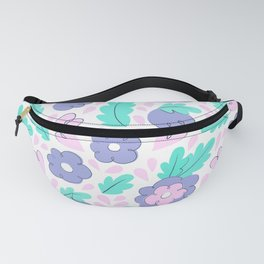 Creative floral print. Sping mood. Summer vibes. Happy lifestyle Fanny Pack