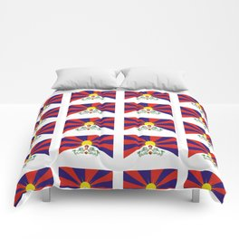 flag of thibet,བོད,tibetan,asia,china,Autonomous Region,everest,himalaya,buddhism,dalai lama Comforters