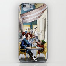 Café iPhone & iPod Skin