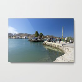 Albanian Car Ferry  Metal Print