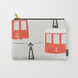 Barcelona Cable Cars Carry-All Pouch