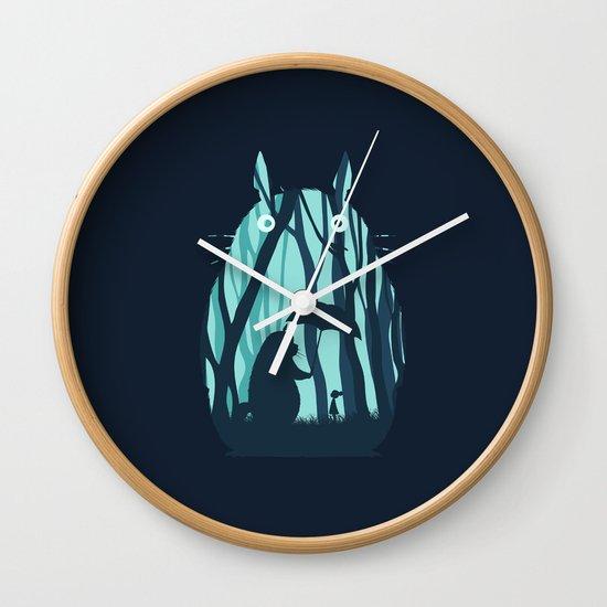 My Neighbor Totoro Wall Clock