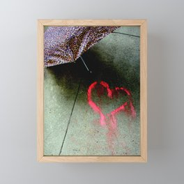 Love Is Love And Not Fade Away Framed Mini Art Print