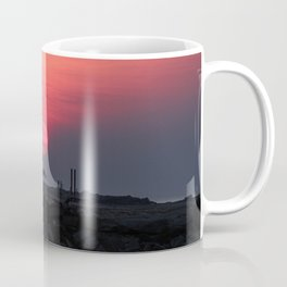 Cloudy sunrise at the Miramar beach. Coffee Mug