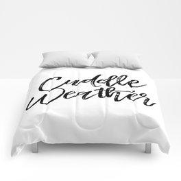 Cuddle Weather Comforters