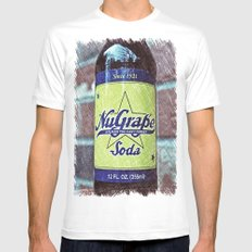 NuGrape classic soda MEDIUM White Mens Fitted Tee