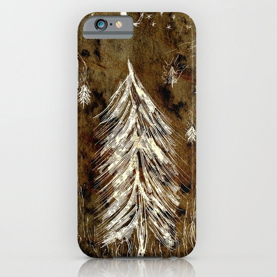 Dawn In A Burning Forest iPhone & iPod Case