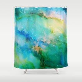 Blellow Shower Curtain