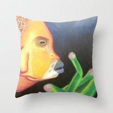 a Bright Depth Throw Pillow