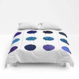 Blue Pigments Comforters