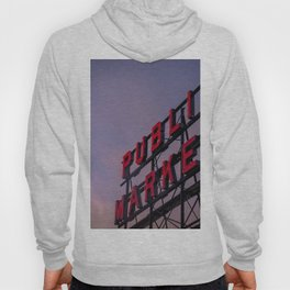 Pike Place Neon Sunrise Hoody