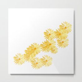 Flower minimal margarita daisy Metal Print
