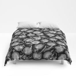 Kettlebells B&W Comforters