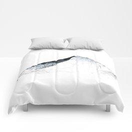 MOUNT EVEREST mountainsplash grey Comforters