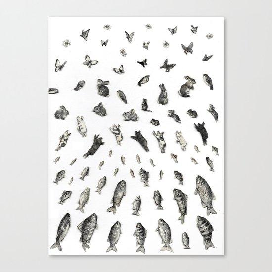 BEGGINNINGS Canvas Print