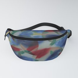 Chambray Oslo Grey Fanny Pack