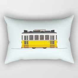 Lisbon 28 Tram Rectangular Pillow