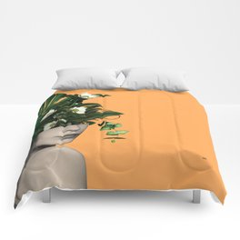 Lady Flowers Vlll Comforters