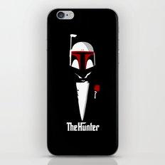 The hunter poster parody iPhone & iPod Skin