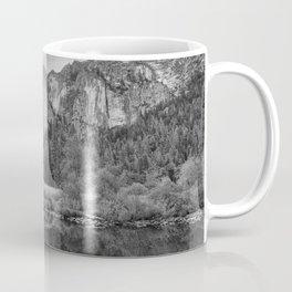 Valley View 6654 B & W - Yosemite National Park, CA Coffee Mug