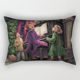 Christmas Sing Along Rectangular Pillow