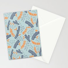 Logs Stationery Cards