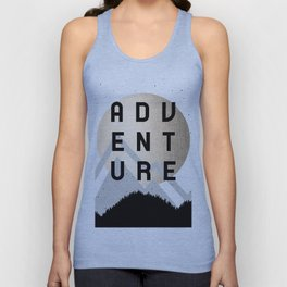 Adventure Golden Sunrise Unisex Tank Top