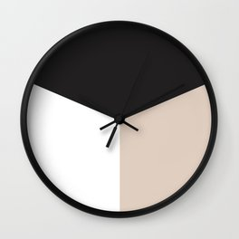 Blocked Sand Wall Clock