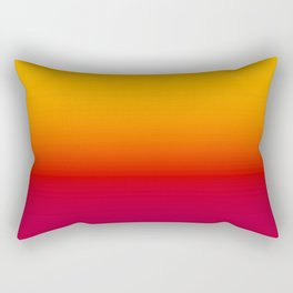 sunSET Ombre Gradient Rectangular Pillow