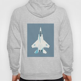 F15 Eagle Supersonic Fighter Jet Aircraft - Slate Hoody