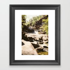 Ubon Ratchathani TH - Waterfalls I Framed Art Print
