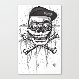 City of despair and good fortune Canvas Print