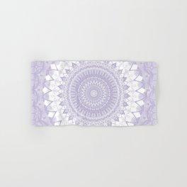 Boho Pastel Purple Mandala Hand & Bath Towel