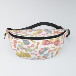 Butterfly Tango Light Fanny Pack