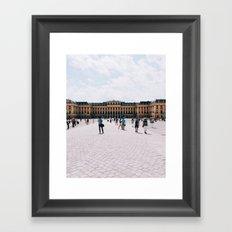Schönbrunn Castle Framed Art Print