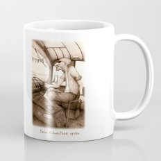 The King of the Road (Retro)  Mug