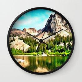 Lake Blanche Wall Clock
