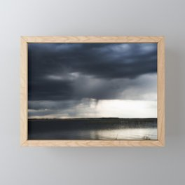 Thunderstorm Framed Mini Art Print