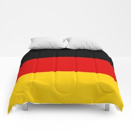 Flag of Germany - Authentic High Quality image Comforters