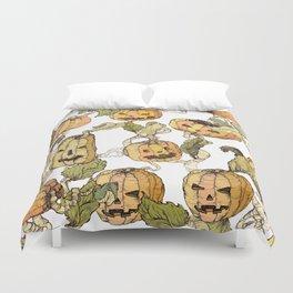 pumpkin soap Duvet Cover
