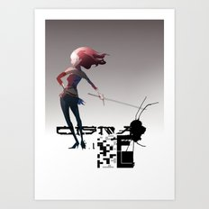 CMA G Art Print