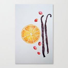 Cranberry Orange Vanilla Canvas Print