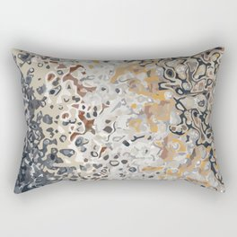 Erosion 1885 abstract art Rectangular Pillow