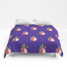Fruit: Dragon Fruit Comforters
